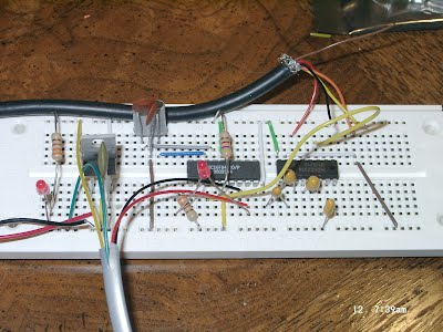 Breadboarded Circuit